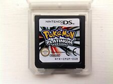 Pokemon Platinum version edition Nintendo 2DS 3DS DSi XL jeu de rôle rpg