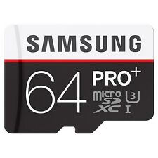 Samsung PRO+ MB-MD64DA (64GB) MicroSDXC Class 10 UHS-I Memory Card with SD