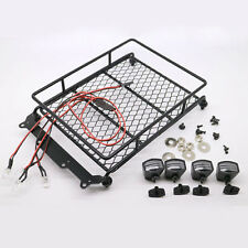 Wrangler Rock Cralwer Roof Luggage Rack LED Light for RC TAMIYA RC4WD SCX10 (#A)