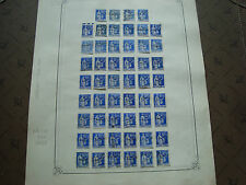 FRANCE - timbre yvert  et tellier n° 368 x52 obl (br1) stamp french