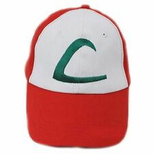 POKEMON Ash Ketchum Embroidered Trainer Cap Anime Cosplay Hat Pikachu Adjustable