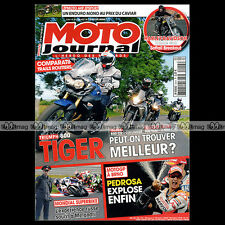 MOTO JOURNAL N°2014 YAMAHA TDM 900 SUZUKI GSR 600 TRIUMPH 800 TIGER BMW F 650 GS