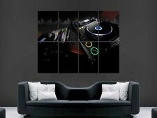PIONEER CDJ DJ MIXING EQUIPMENT LARGE  GIANT POSTER PRINT
