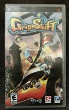 GRIP SHIFT - SONY PSP - GAME AND BOOKLET - NICE CONDITION AND TESTED!