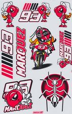 93 Marc Marquez Moto-GP Helmet Racing Sticker Car Bike Notebook Kits Decals 02