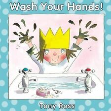 WASH YOUR HANDS! (Little Princess Books)-ExLibrary