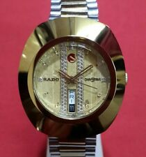 Vintage rado diastar org automatic  swiss made working wrist watch 100%authentic