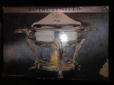 ROYAL LIMITED TWO QUART SILVERPLATE FOOD WARMER NIB