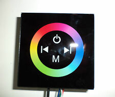 DIMMER TOUCH PANEL PER TECNOLOGIA A LED DC 12-24 VOLT 4 AMPERE RGB