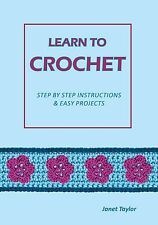 LEARN TO CROCHET book, booklet, how to crochet, crochet made easy for beginners