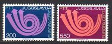 Yugoslavia - 1973 Europa Cept Mi. 1507-08 MNH