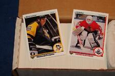 1990-91 UPPER DECK HOCKEY LOW SERIES SET COMPLETE 1-400 (SA415)