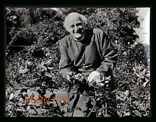 FOTOGRAFIA PHOTO VINTAGE 1969 L'ARCIVESCOVO DI CANTERBURY DR. MICHAEL RAMSEY NEL