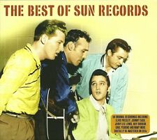 THE BEST OF SUN RECORDS - 2 CD BOX SET - ELVIS, JOHNNY CASH & MORE