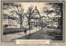BOSTON MA DIRECT MAIL ADVERTISING 8th CONVENTION~LOT OF 2 POSTCARDS 1925