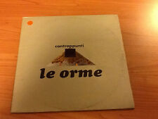 LP LE ORME CONTRAPPUNTI PHILIPS  6323 035 A VG+/EX- ITALY PS 1974 PV