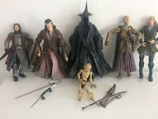 lord of the rings joblot large figures And Weapons Bundle