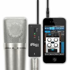 IK Multimedia iRig Pre Mic Audio Interface For iPad iPhone & iPod Touch