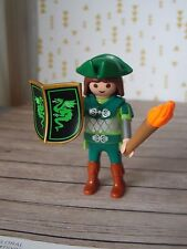 Playmobil Castle Guard With Torch & Shield