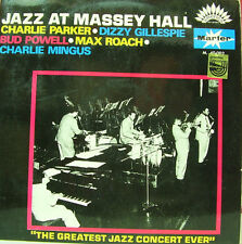 JAZZ AT MASSEY HALL-CHARLIE PARKER + DIZZY GILLESPIE + BUD POWELL + MAX ROACH +