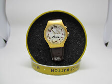 Original SLINKY Collector's Edition Watch Plays 'Slinky' Song w/ Tin Case