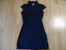 SHOWGIRLS Paris stylisches Jerseystretchkleid blau Gr. 1 TOP ZT316
