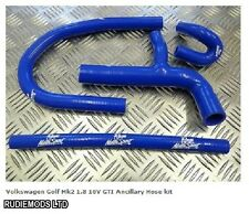 VW Golf Mk2 GTi 1.8 16v Ancillary Silicone Hose Kit Roose Motorsport