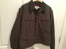 Filson 10072 Dry Finish Tin Cloth Lined Ranch Jacket - Wool Lined