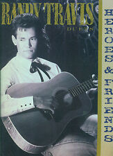 """RANDY TRAVIS """"HEROES AND FRIENDS"""" PIANO/VOCAL/GUITAR MUSIC BOOK-BRAND NEW SALE!!"""