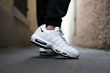 Nike Air Max 95 Triple noir blanc uk 7 us 8 Force 1 90 93 raisin neon amt 98 og