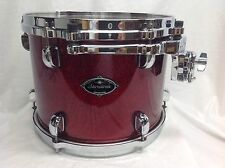 "Tama Starclassic Birch/Bubinga 12"" Diameter Mounted Tom/Crimson Sparkle/Nice"