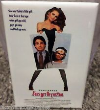 "She's Out of Control Movie Poster 2"" x 3"" Refrigerator Locker MAGNET"
