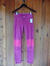 New Hudson Krista Super Skinny Jeans Size 28 $189 Dyed Purple