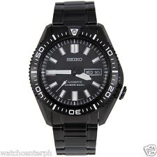 Seiko Black Stargate SKZ329K1 Automatic Dive Watch  SKZ329 COD Free Ship