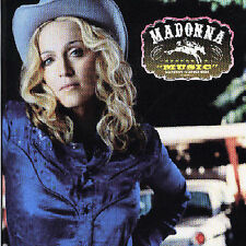 MADONNA - MUSIC CD Australian Version 2 bonus tracks