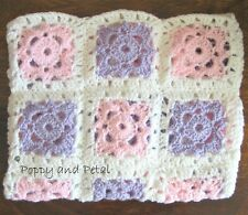 BABY BLANKET CROCHET PATTERN. Utterly gorgeous and soft. Easy to make!
