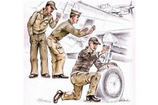 CMK F72114 1/72 US Army mechanics WW II (3 fig. )