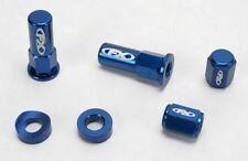 Factory Effex - 12-36722 - Valve Cap/Rim Lock Kit, Red