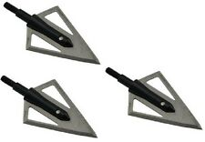 2-Blade 100 grain Broadheads Arrow Heads - 3 pcs per pack - Best Price Ever!!!