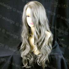 Sexy Beautiful Wavy Blonde mix Brown Long Heat Resistant Wigs from WIWIGS UK