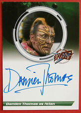 Blake's 7-damien thomas comme atlan-autographe carte-imparable cartes