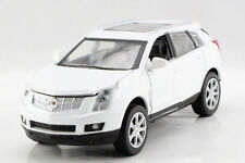 White 1:32 Cadillac SRX Alloy Diecast Model Car With Sound & Light Pullback 1/32
