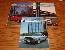 1992 Ford Mustang Times Magazine Vol 16 No 1 7 8 Lot of 3 92