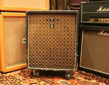 Vintage 1960s Vox Jennings Foundation Bass 1x15 Cabinet w/ Fane Studio Colossus
