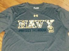 NWT UNDER ARMOUR MENS XXL US NAVY  'PROTECT THIS HOUSE' LOOSE CAMO S/S SHIRT TOP