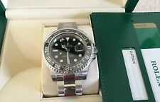 Rolex NIB GMT-Master BLACK II 116710LN 40MM Ceramic Stainless Steel 3186