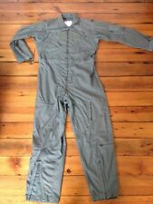 US Miltary Summer Coveralls Flyers Fire Resistant Polyamide Jumpsuit 44L 46x42