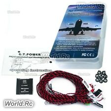 GT POWER Flight Simulated and Flashing Light System For RC Aircraft Plane  GT028