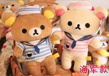 San-X Rilakkuma Plush Toy Crew Stuffed Soft Toys Set