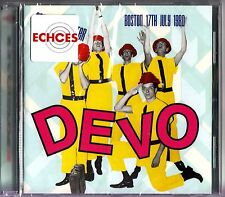 DEVO - Orpheum Theater, 1980 Live in Concert CD (NEW 2014) Freedom of Choice